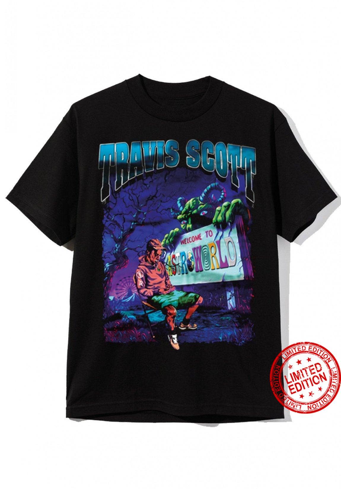 Cactus Jack Astroworld Shirt