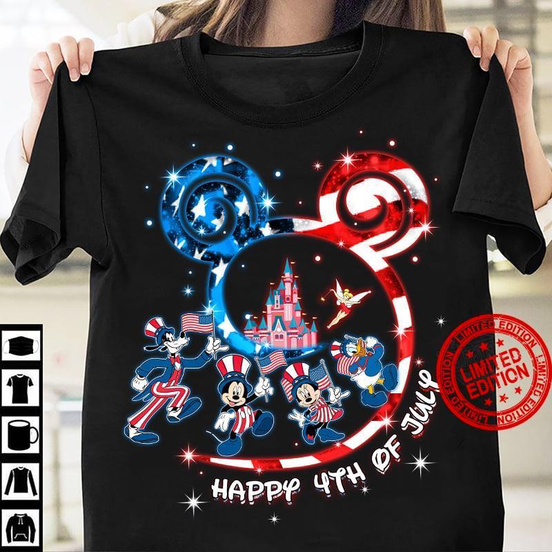 Disney Happy 4th Of July Shirt