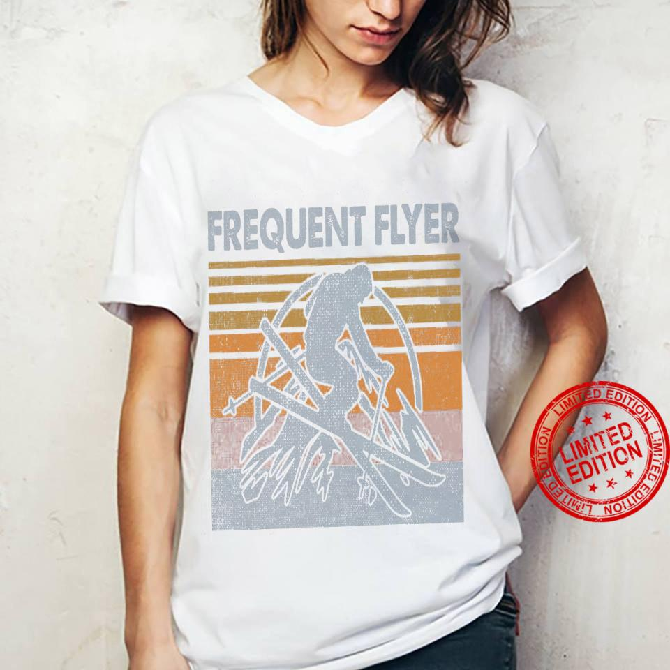 Frequent Flyer Shirt ladies tee