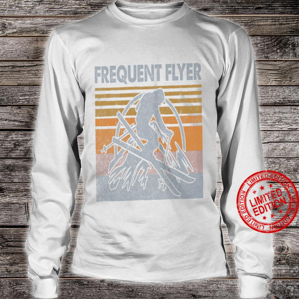 Frequent Flyer Shirt long sleeved