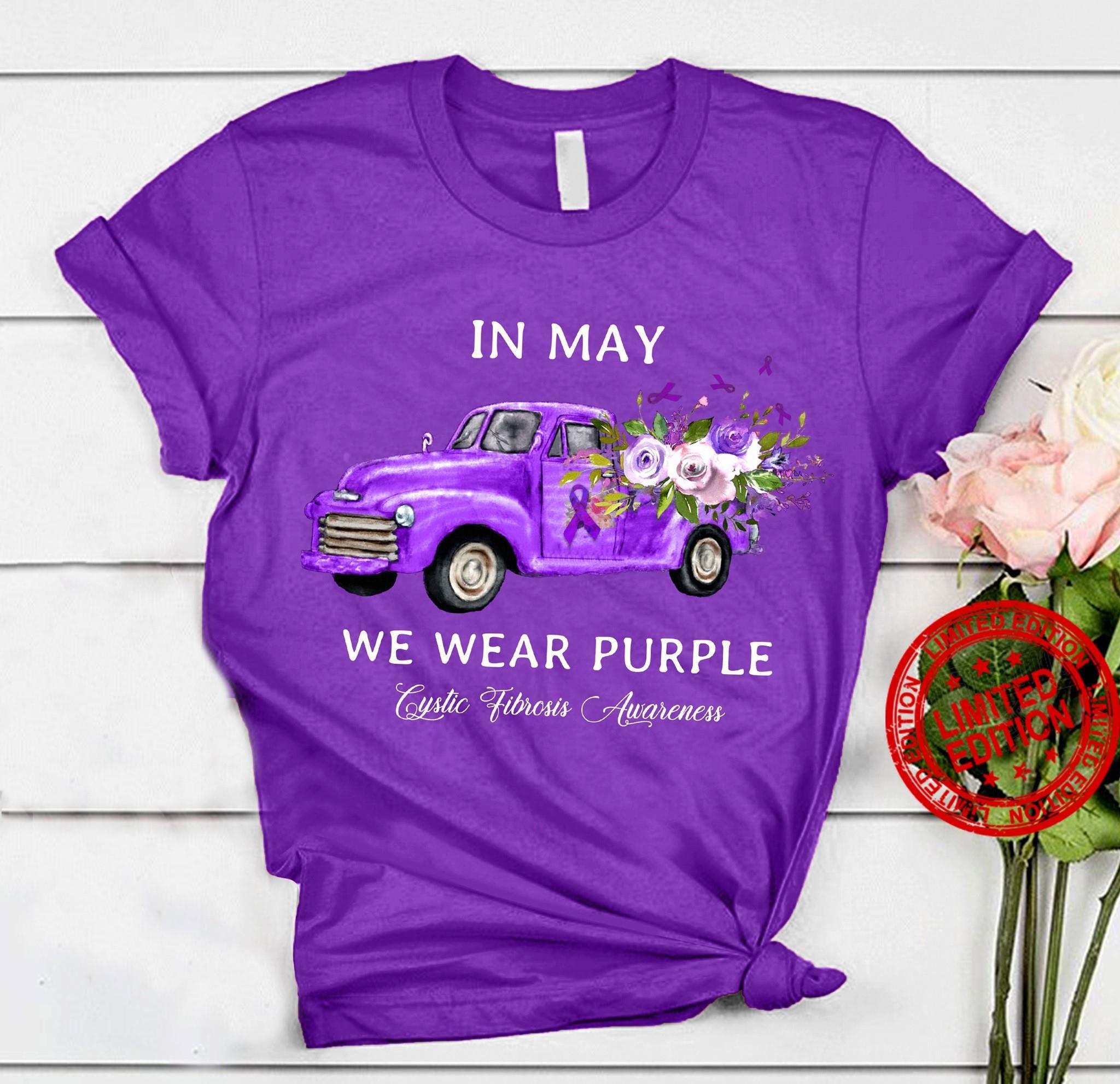 In May We Wear Purple Shirt