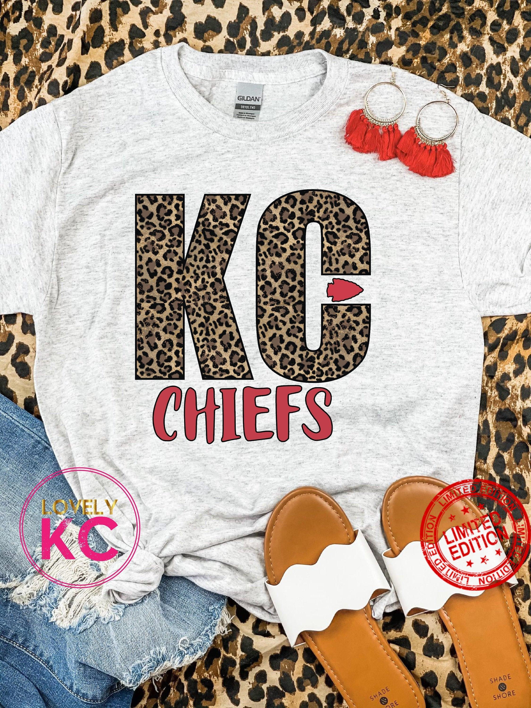KC Leopard KC Chiefs Shirt