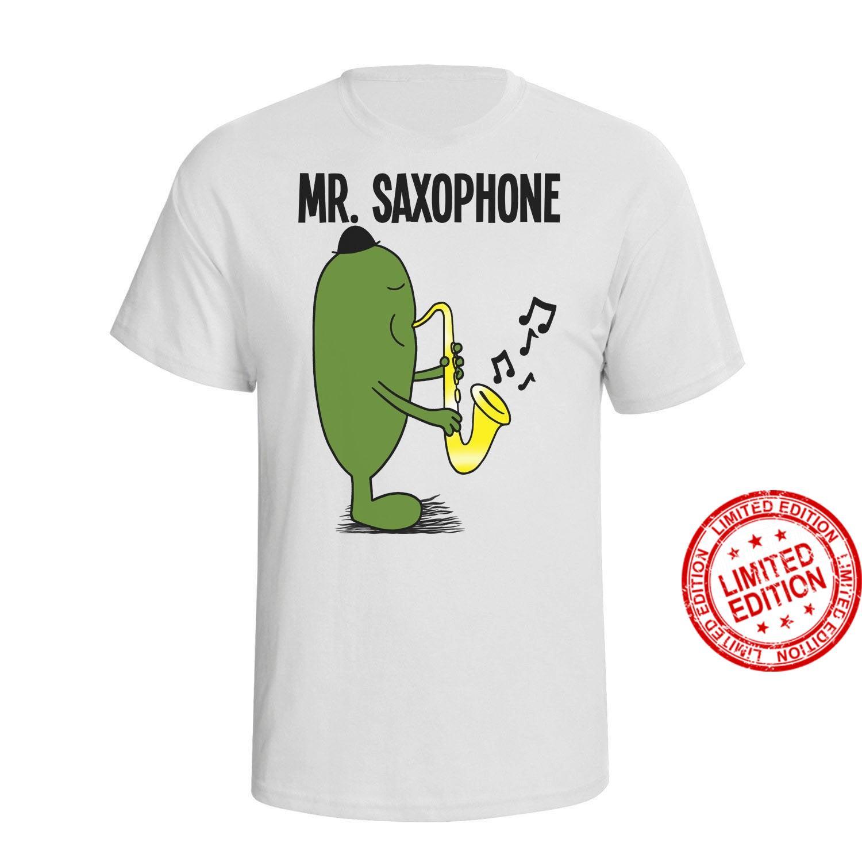 Mens Musician MR SAXOPHONE Christmas Shirt