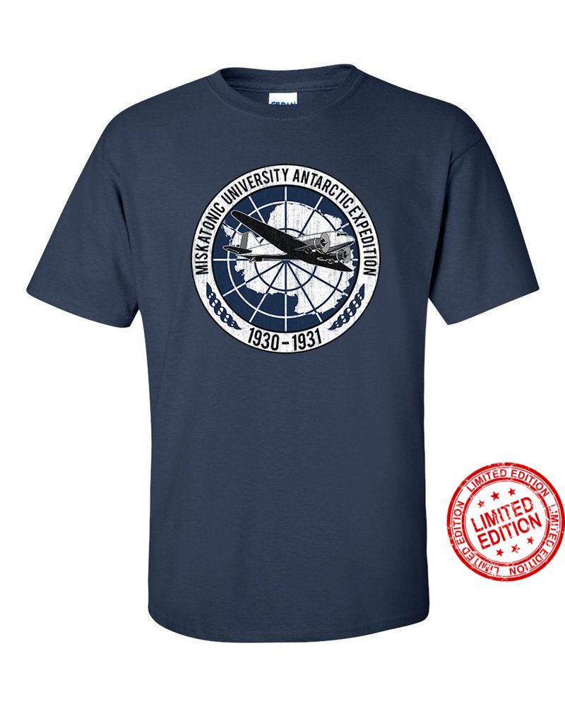 Miskatonic University Antarctic Expedition Lovecraft Inspired Shirt
