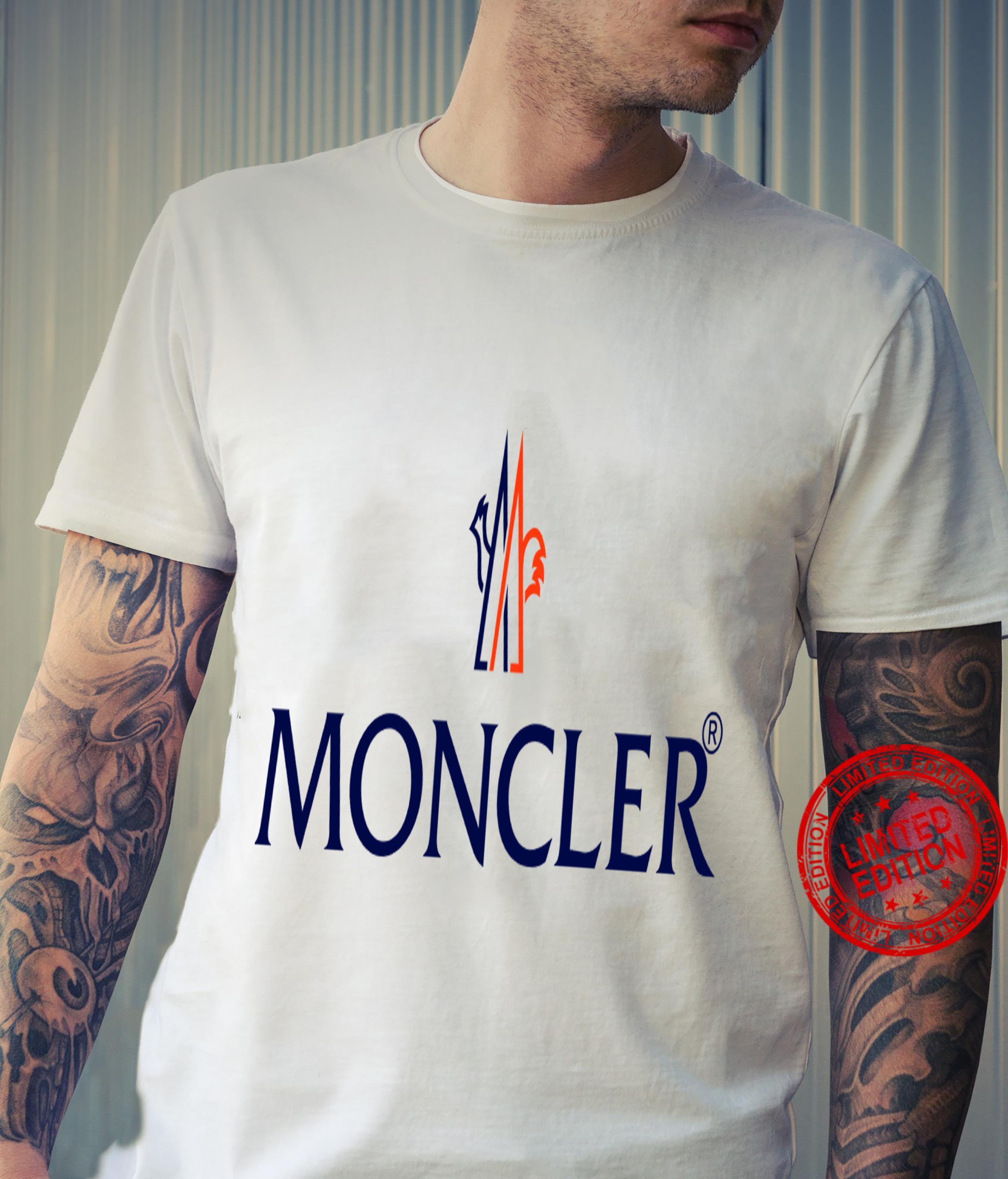 Moncler logo shirt