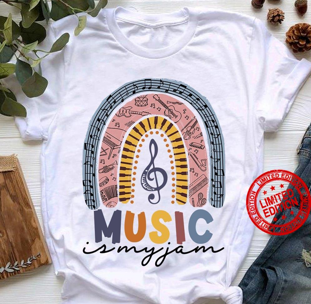 Music Is My Jam Shirt