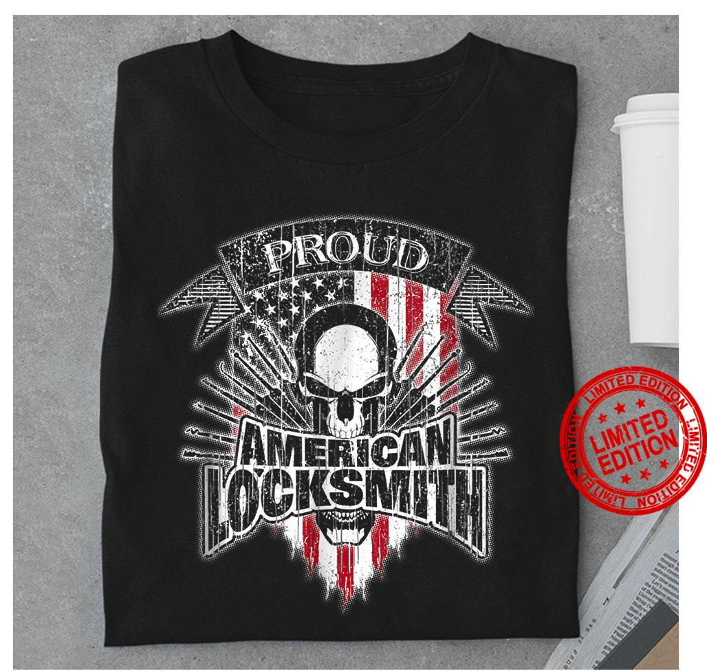 Proud American Locksmith Shirt