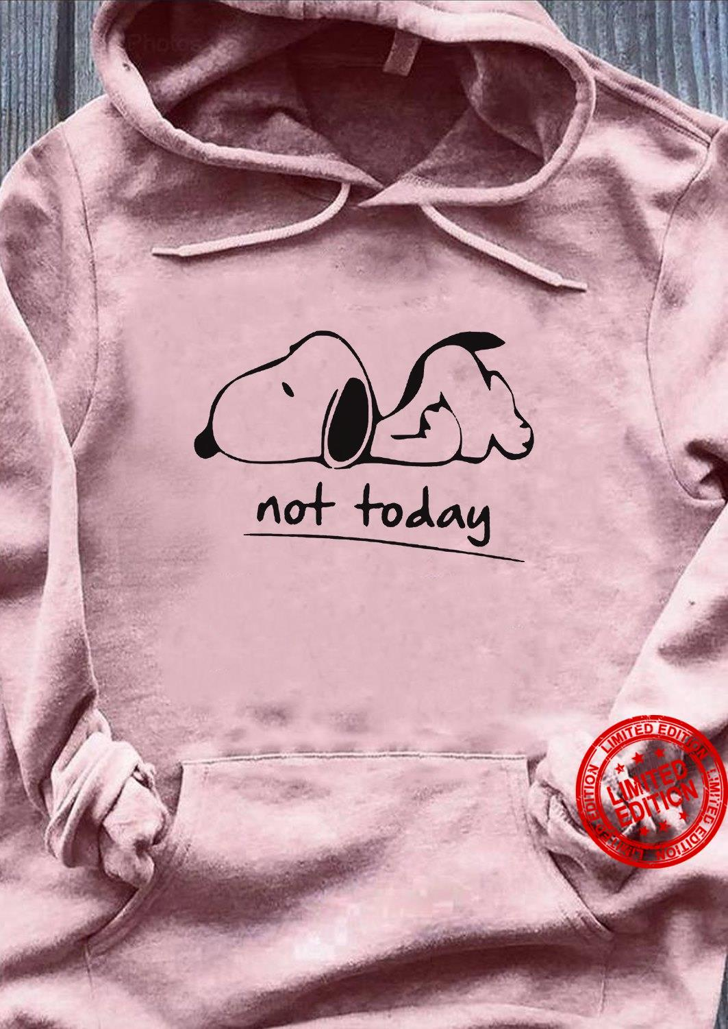 Snoopy Not Today Shirt