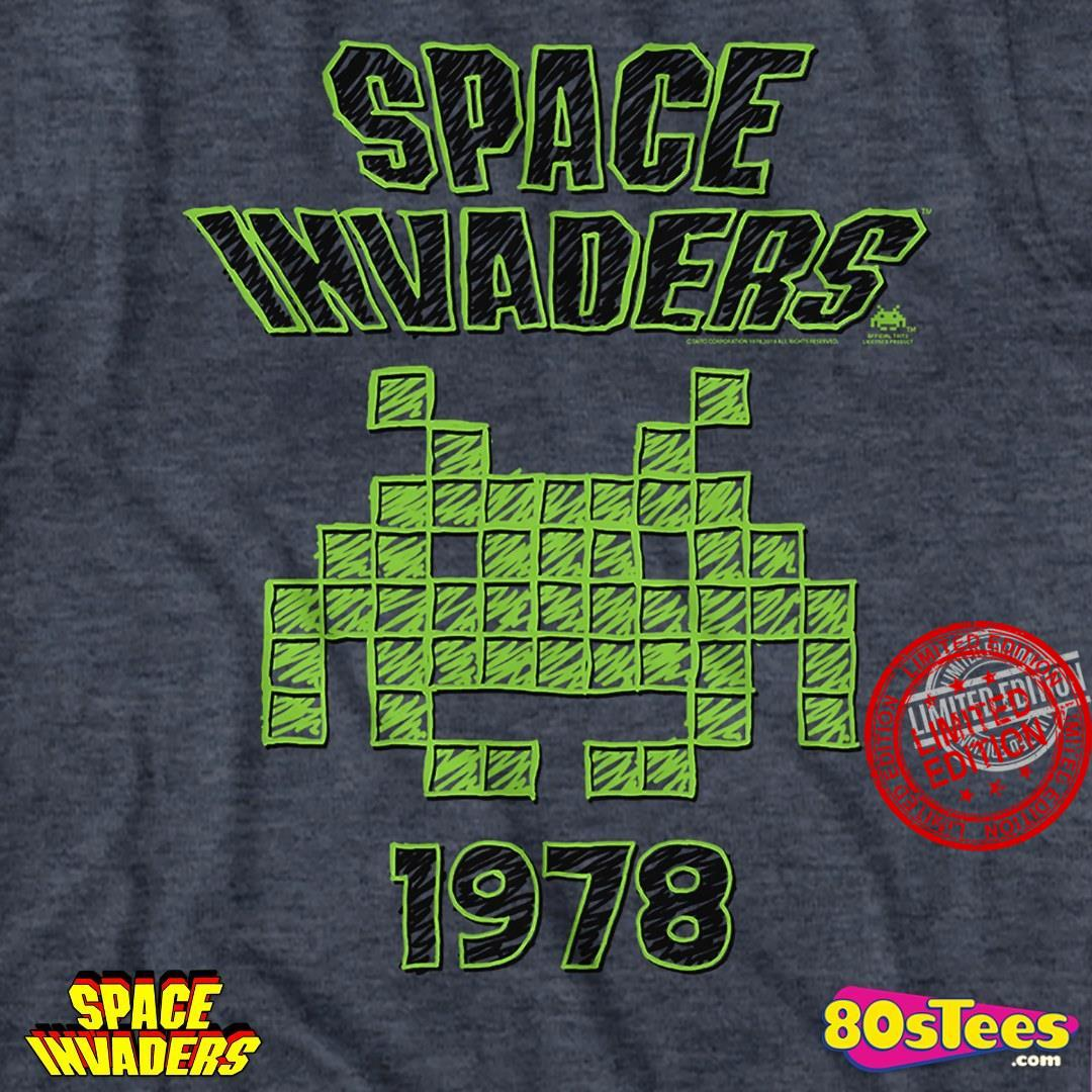 Space Invaders 1978 Shirt