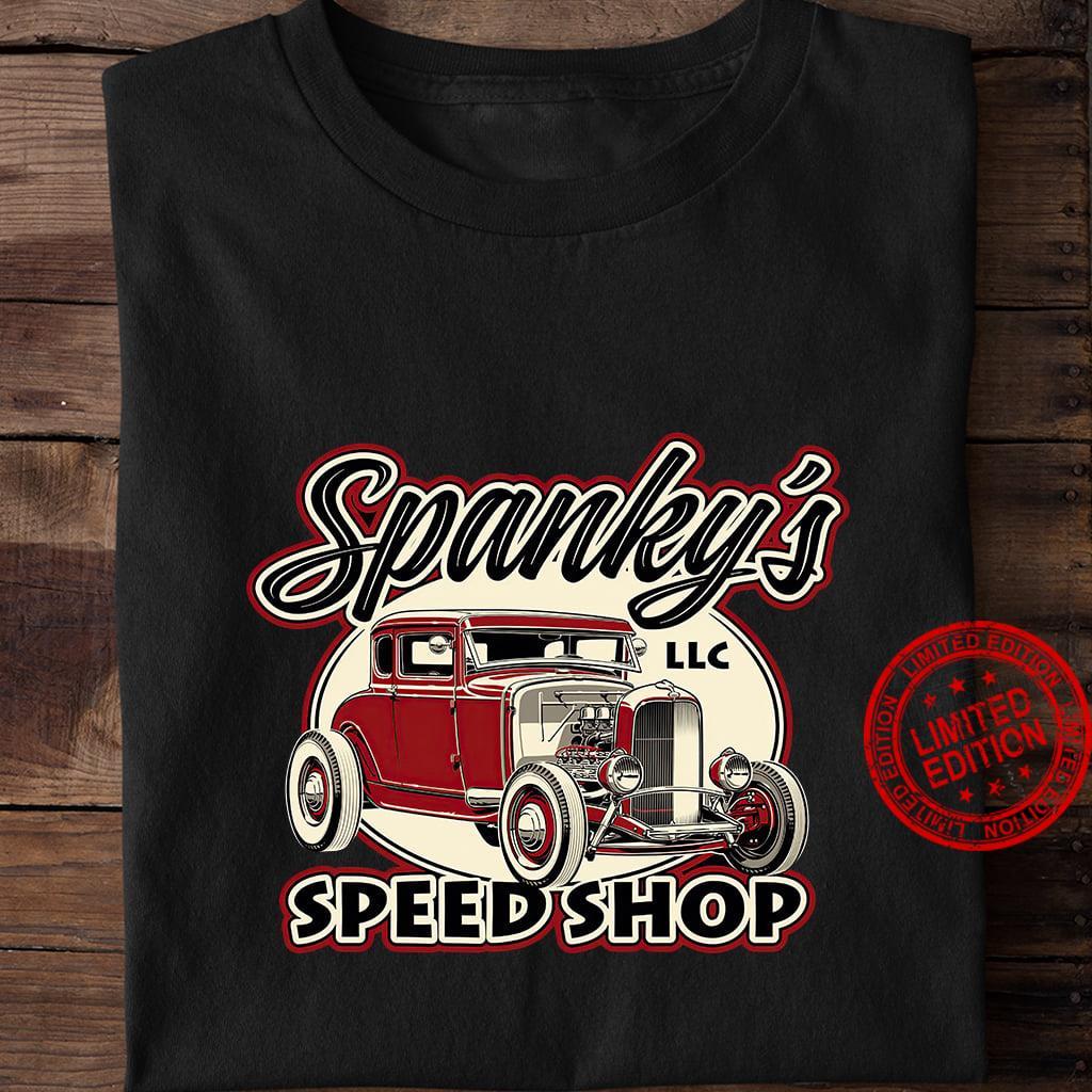 Spanky's Speed Shop Shirt