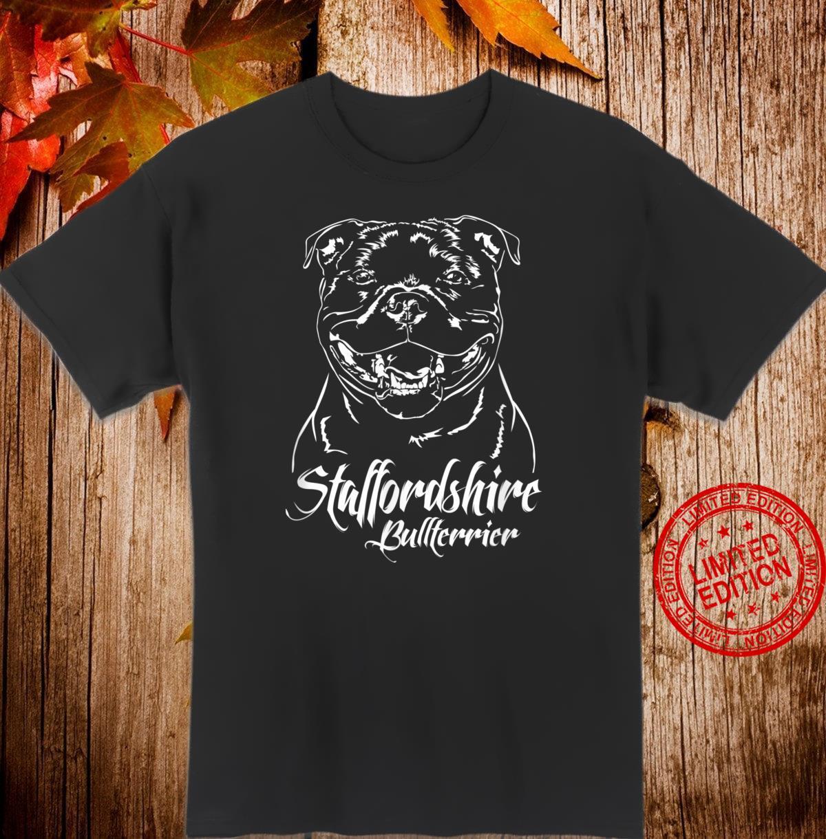 Staffordshire Bullterrier Hund Hunderasse Hunde Shirt