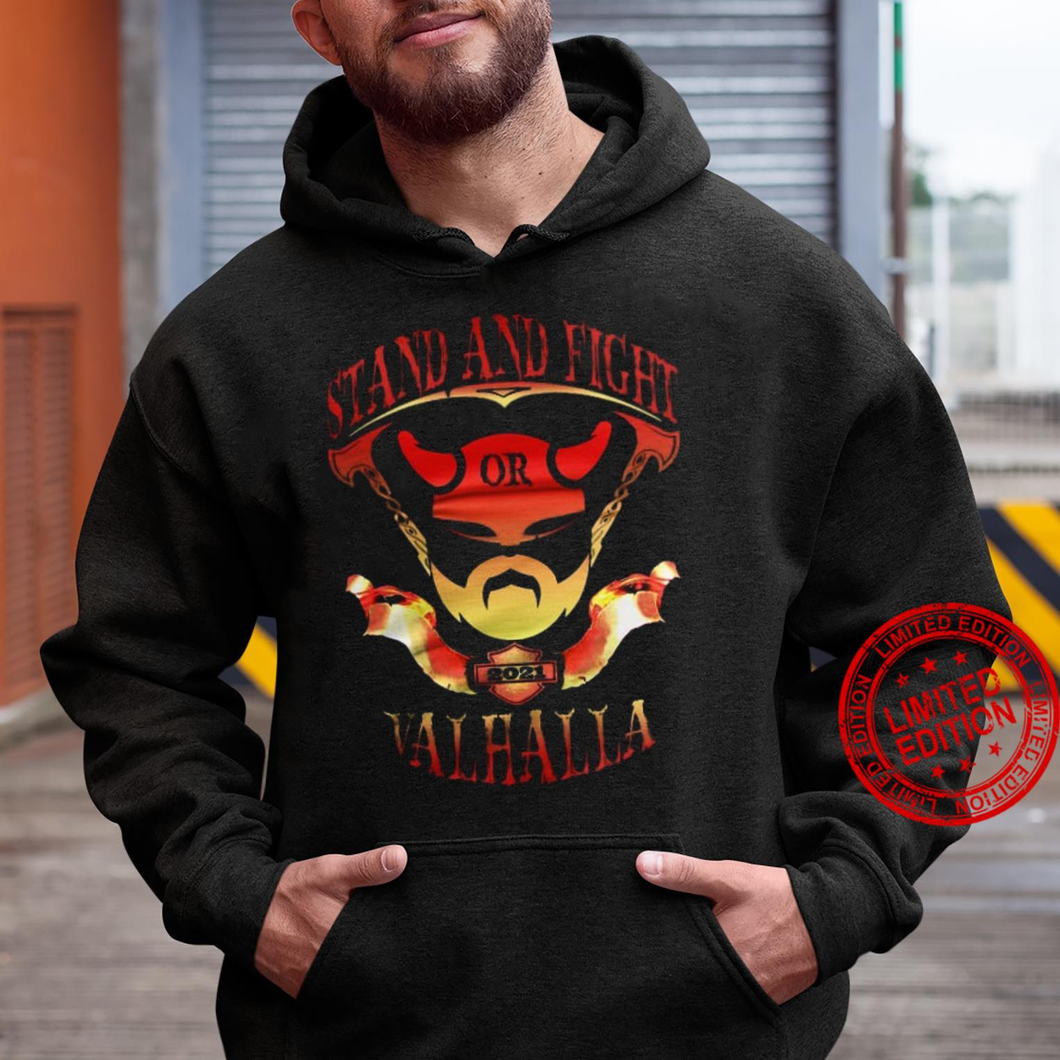 Stand And Fight Or Valhalla Shirt hoodie