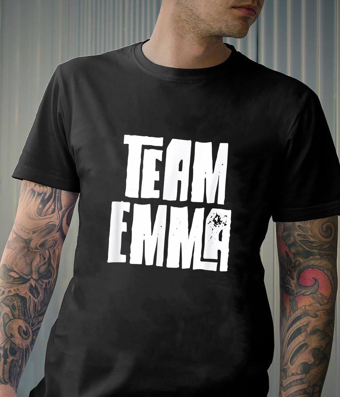 Team Emma Daughter Granddaughter Mom Dad Sports Team Shirt