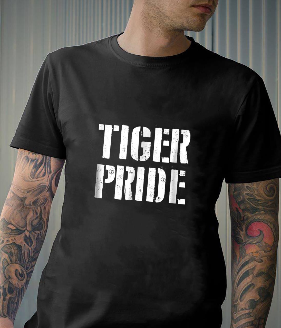 Tiger Pride Shirt for any Sports Fan School Spirit Shirt