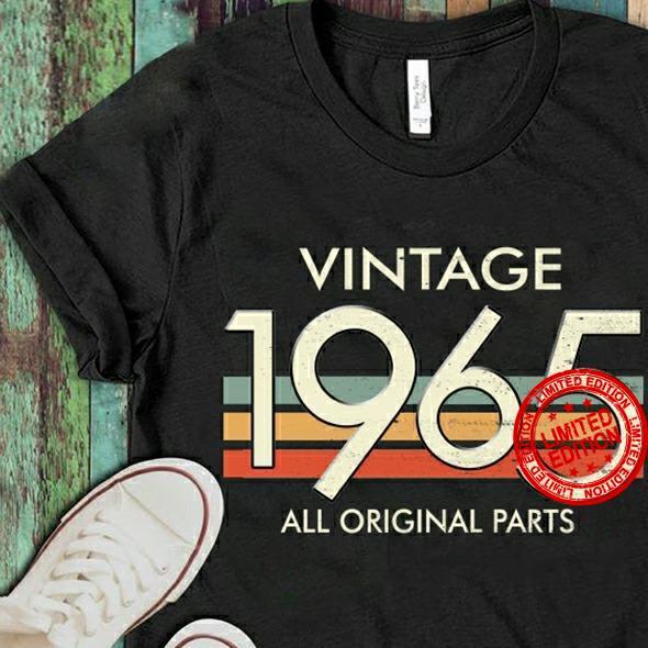 Vintage 1965 All Original Parts Shirt