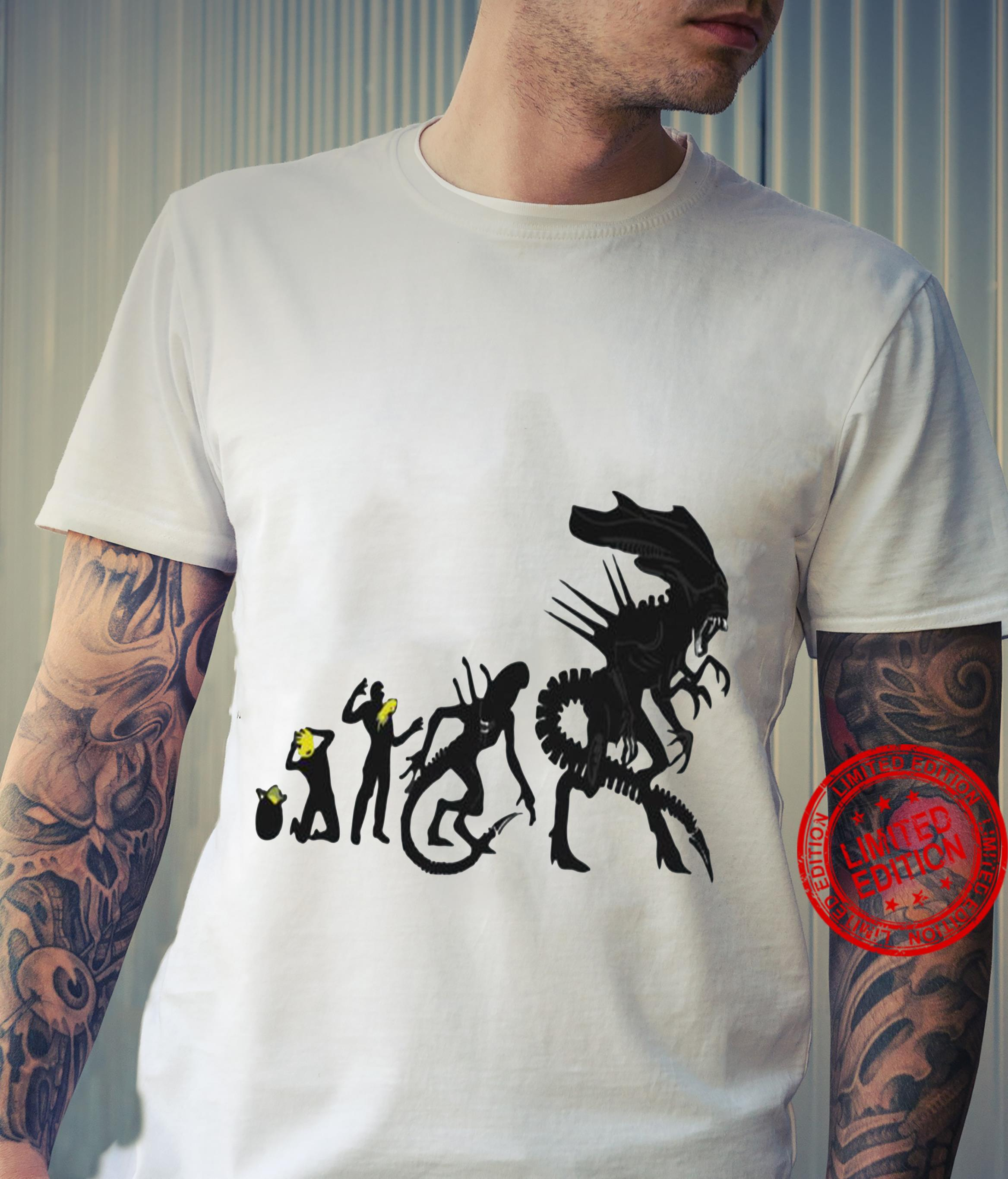 Zoko apparel alien evolution shirt