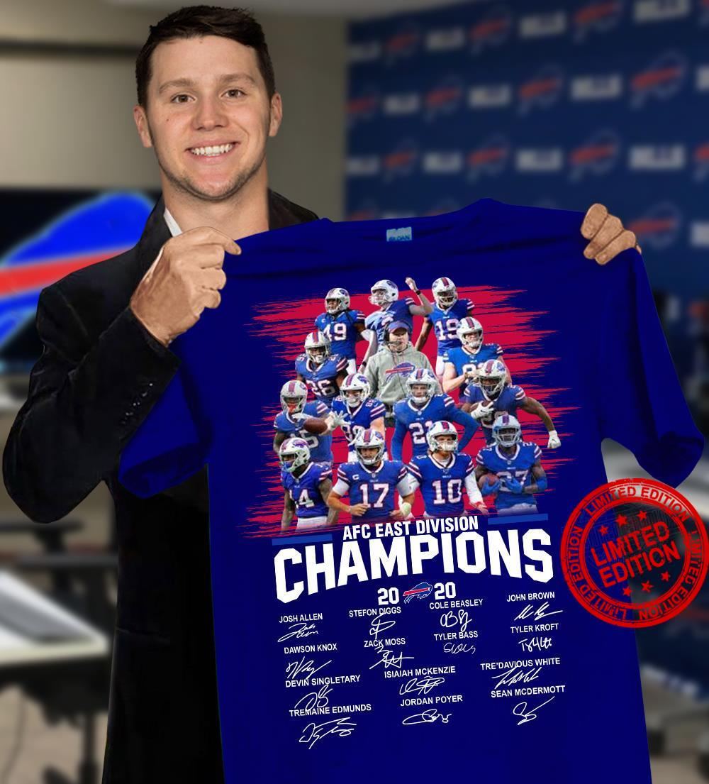 AFC East Division Champions 2020 Shirt