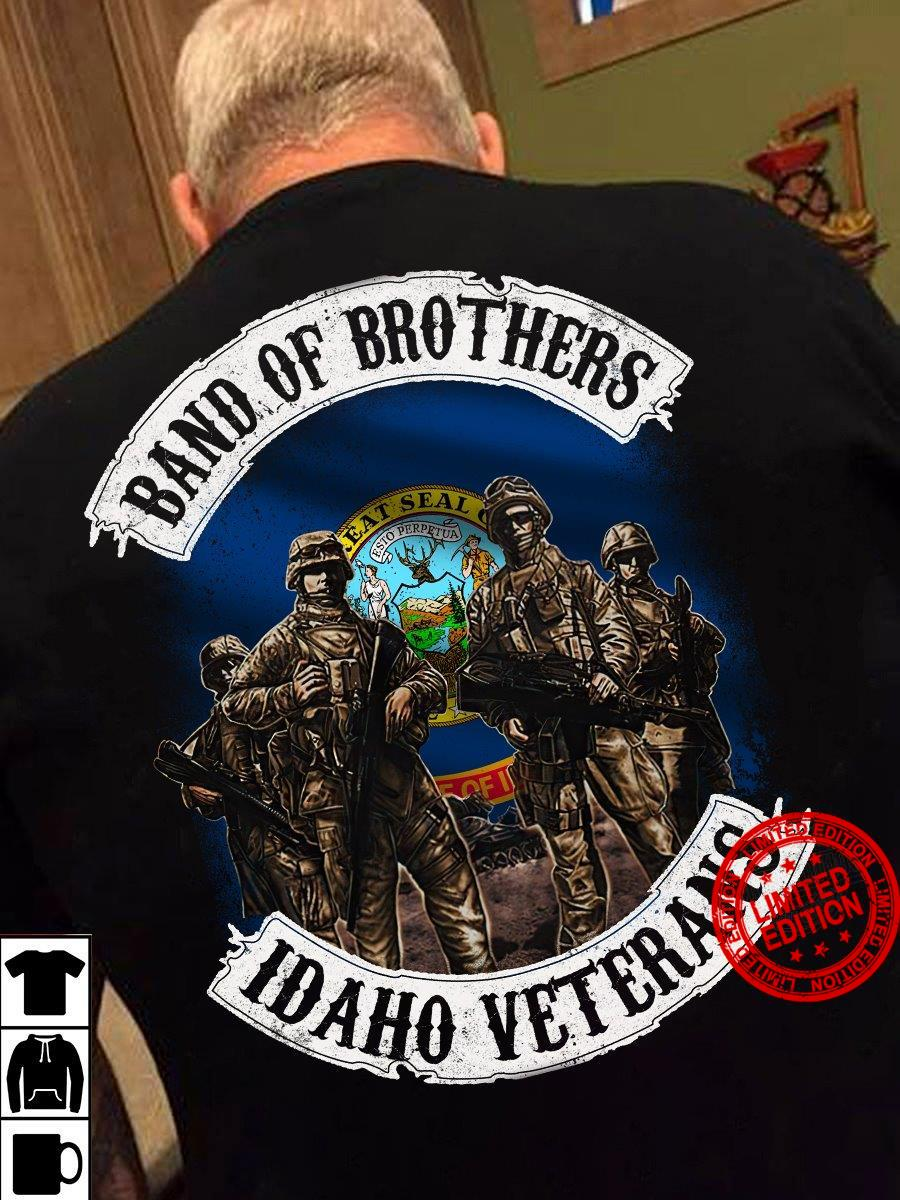Band Of Brothers Idaho Veterans Shirt