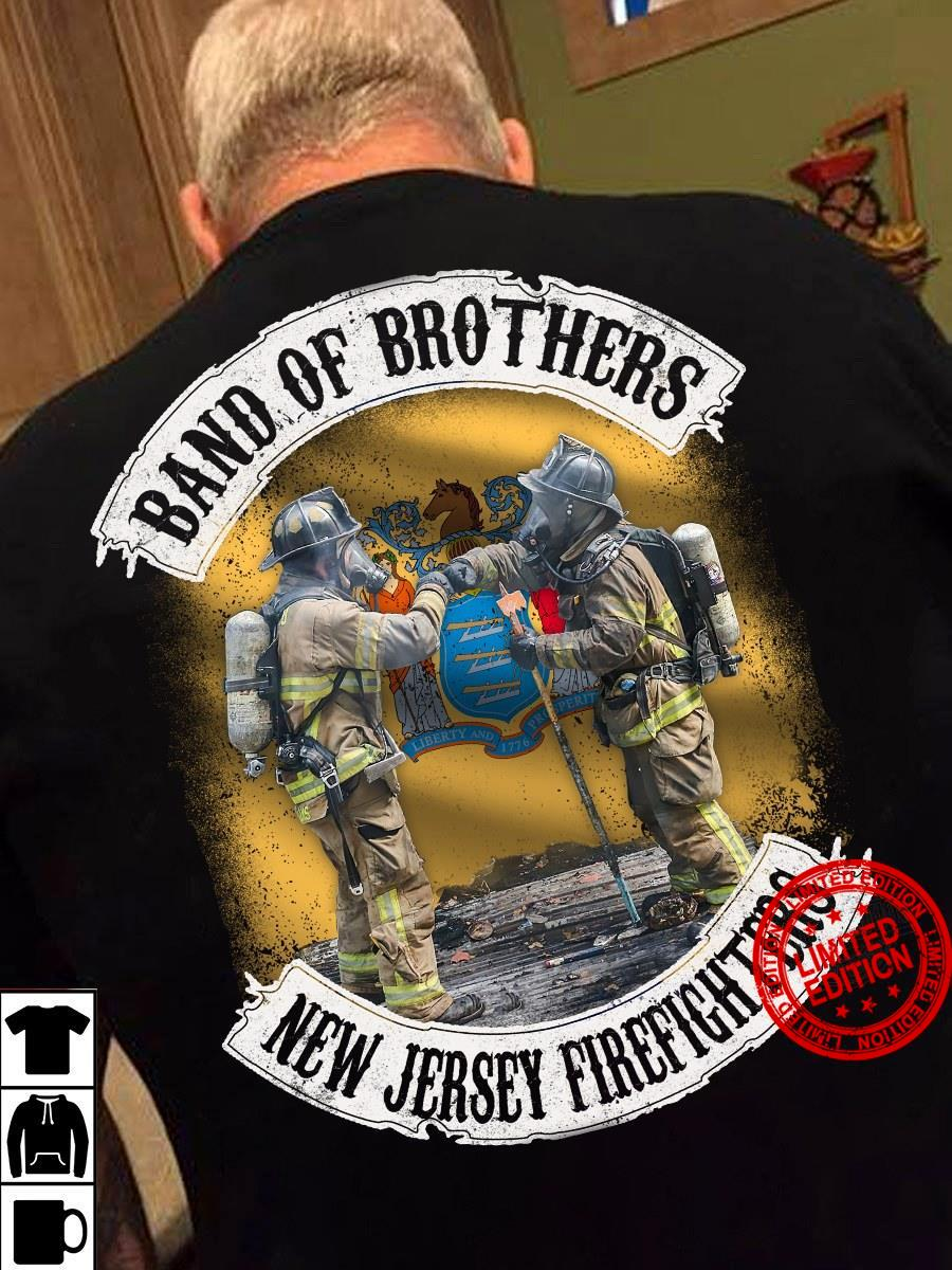 Band Of Brothers New Jersey Firefighters Shirt