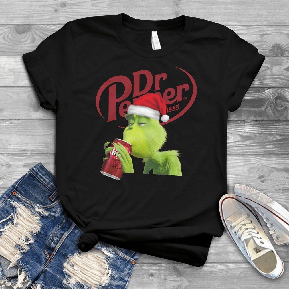Dr.Pepper Grinch Christmas Shirt