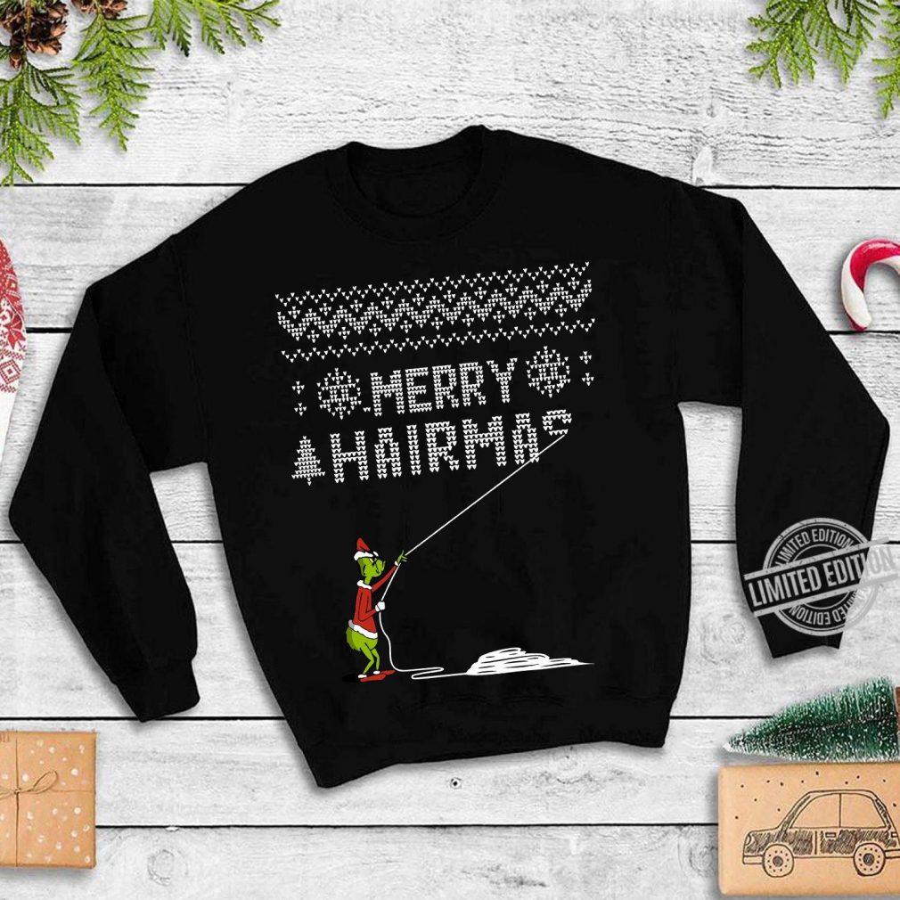 Grich Merry Hairmas Shirt