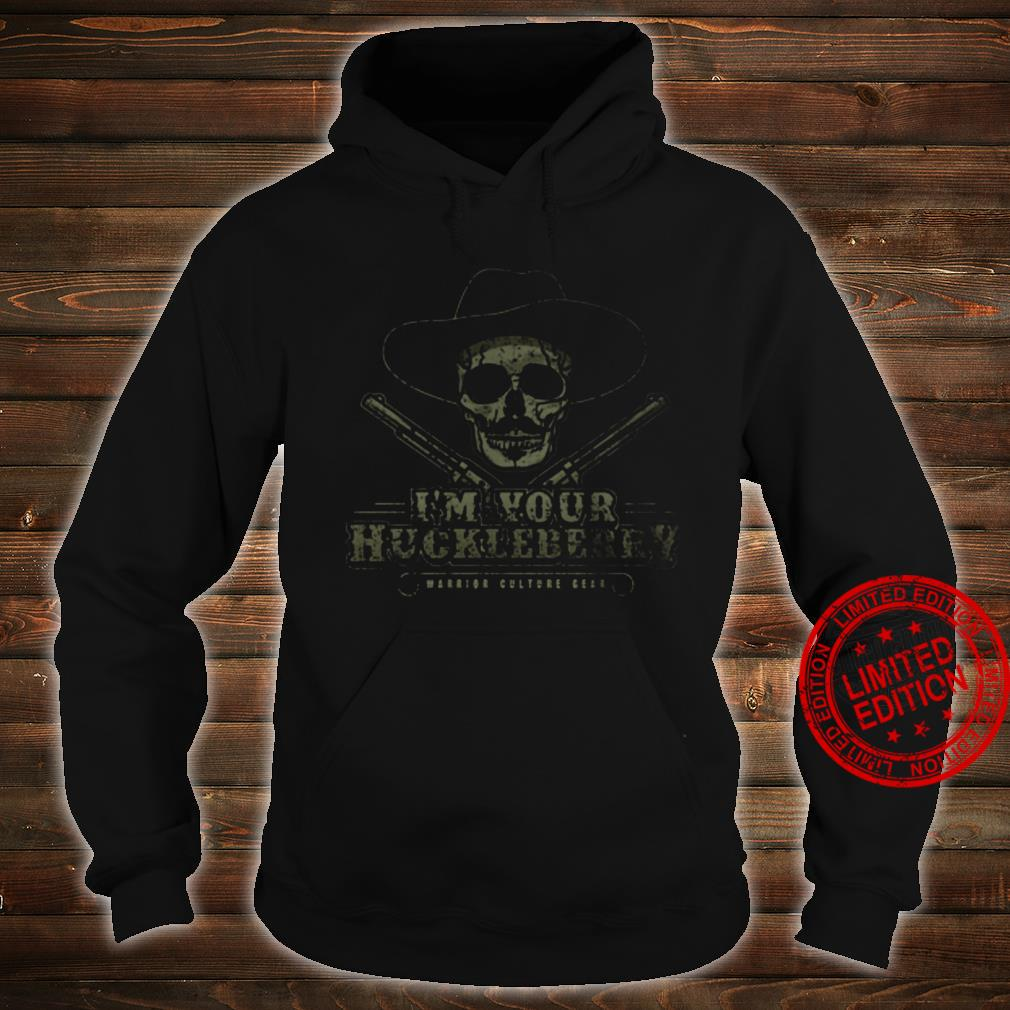 I'm Your Huckleberry Warrior Culture Bear Shirt hoodie