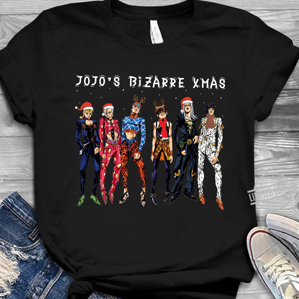 Jojo's Bizarre Xmas Shirt