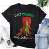 Just The Grinch Who Loves Dogs Shirt
