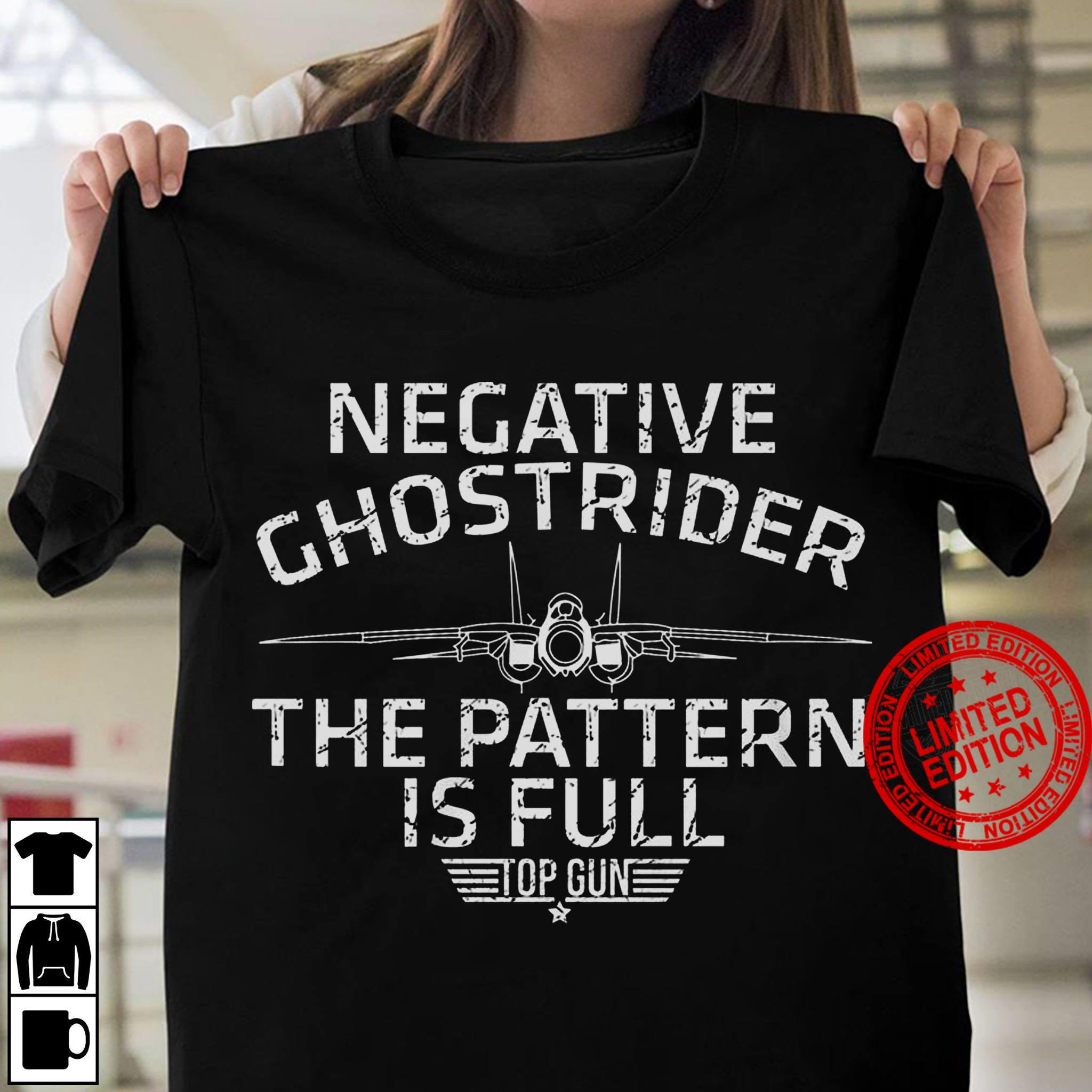Negative Ghostrider The Pattern Is Full Shirt