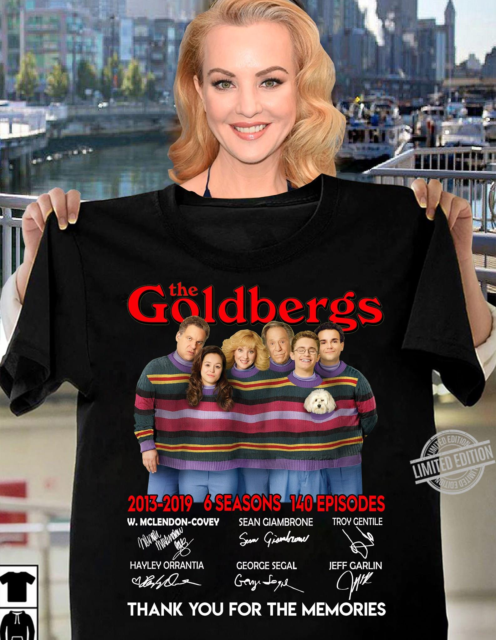 The Goldbergs Signatures Thank You For The Memories Shirt