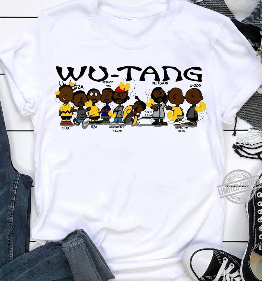 Wu Tang Method Man Raekwon Odb Rza Shirt
